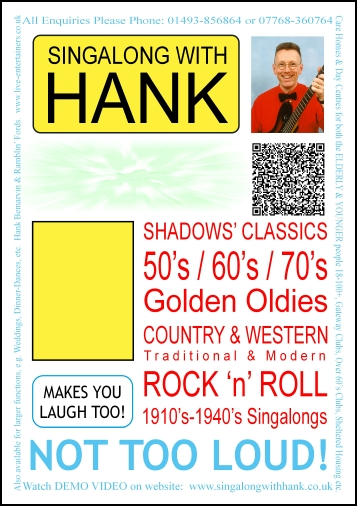 Singalong with Hank poster